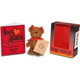 The Boyds Collection Beary Devilish Plush