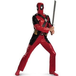 Disguise Deadpool Adult Costume - Red - x-large (42-46)