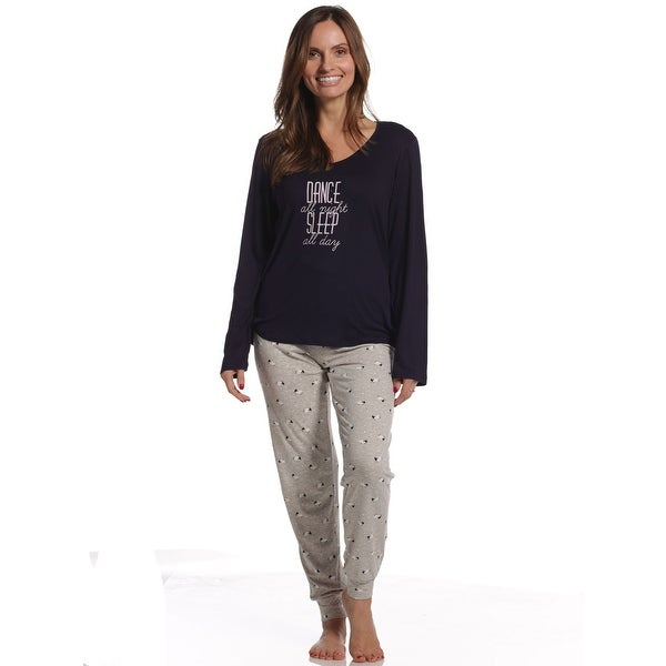 Shop Body Touch Women s Super Soft Sheep Dance All Day Sleep Night Pajama  Set - Free Shipping On Orders Over  45 - Overstock - 23615849 2031a15f8