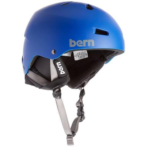 Macon Eps Matte Cobalt Blue W/ Crank-Fit Helmet