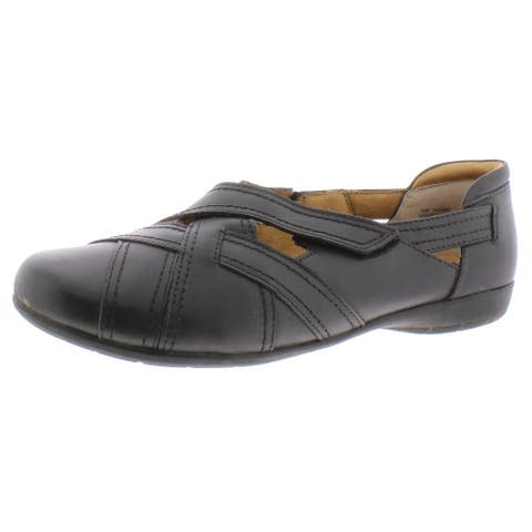 Array Womens Shannon Flats Leather Slip On