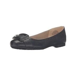 Bandolino Womens Corrado Ballet Flats Leather Round Toe - 6.5 medium (b,m)