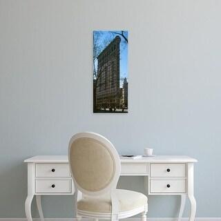 Easy Art Prints Panoramic Images's 'Flatiron Building Manhattan New York City NY' Premium Canvas Art