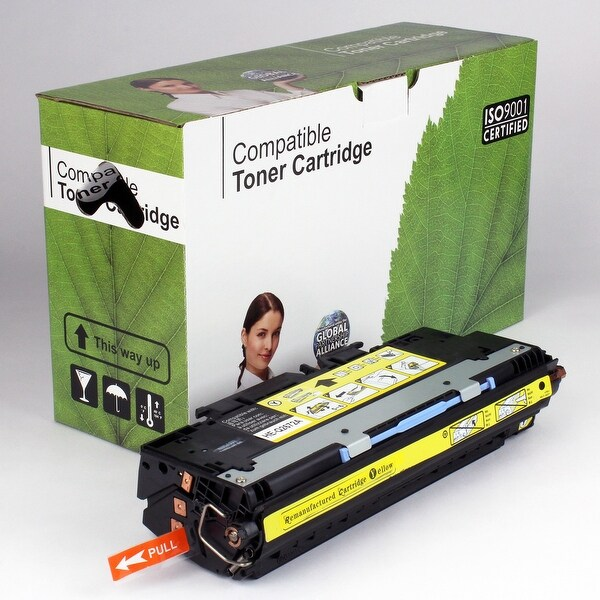 Value Brand replacement for HP 309A Yellow Toner Q2672A (4,000 Yield)