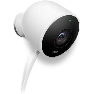 Nest Cam Outdoor Security Camera - White