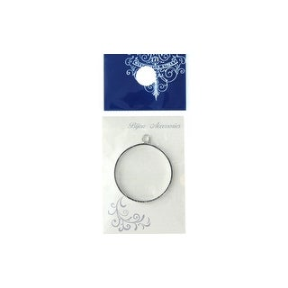 Rsp 530s Resinate Charm Frame Round Large Silver