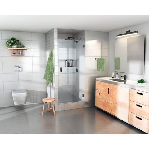 "Glass Warehouse 78"" x 29.375"" - 29.75"" Frameless Shower Door with Enduroshield Technology"