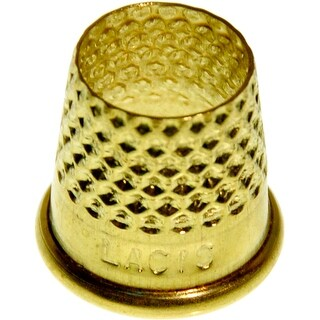 Size 15mm - Open Top Tailor's Thimble