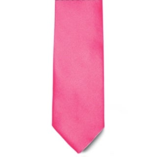 Men's 100% Microfiber Fuchsia Tie