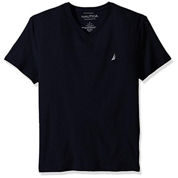 Nautica Mens Slim Fit V Neck T-Shirt