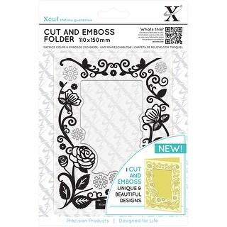 Floral Frame - Xcut Cut & Emboss Folder 110Mm X 150Mm