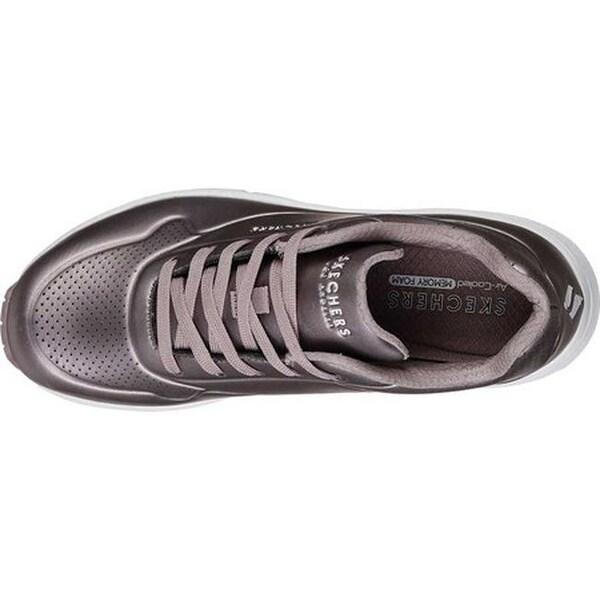 Shop Skechers Women's Uno Rose Bold Sneaker Pewter