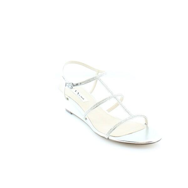 Nina Floria Women's Sandals & Flip Flops Silver