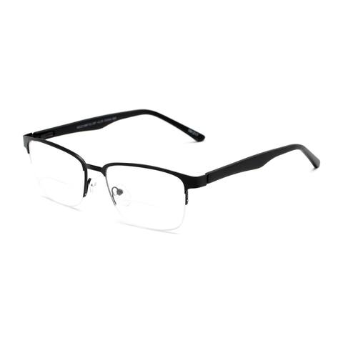 Readers.com The Polk Bifocal Rectangle Reading Glasses