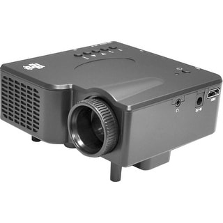 Pyle prjg65 120 inch 1080p hd digital multimedia projector for Compact hd projector