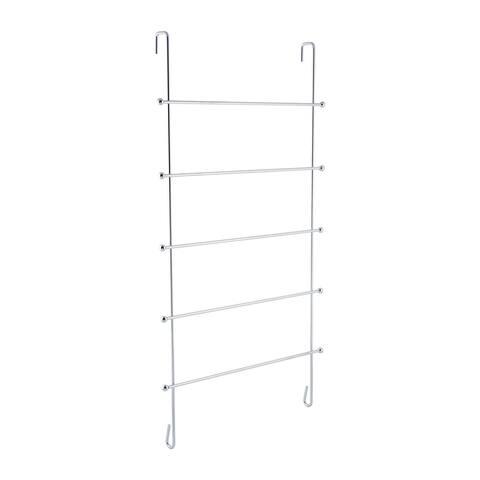 Neu Home 5 Bar Over the Door Towel Rack - 16.50 x 7.24 x 31.50