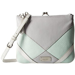 Nine West Womens Jaya Crossbody Handbag Faux Leather Organizational - small