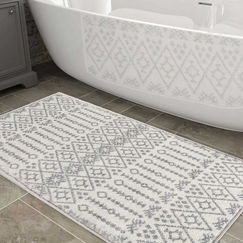 Shabby Chic Moroccan Totem Area Rug