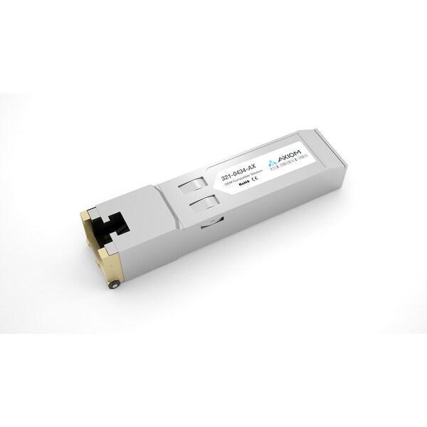 Axiom 321-0434-AX Axiom SFP Module - For Data Networking - 1 x 1000Base-T - Copper - 128 MB/s Gigabit Ethernet1 Gbit/s