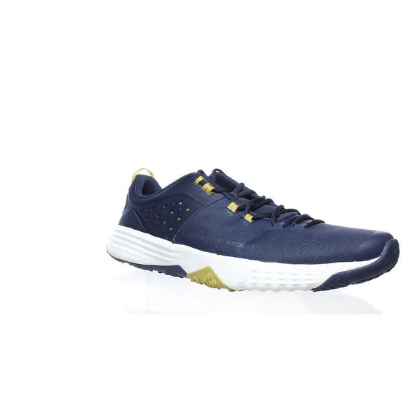 b09718a2 Shop Under Armour Mens Bam Trainer Blue Running Shoes Size 15 - On ...