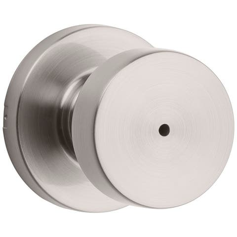 Kwikset 730PSKRDT Pismo Privacy Door Knob Set with Round Rose