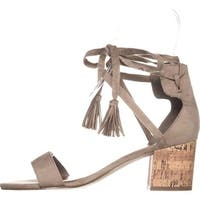Indigo Rd. Womens Elisa Fabric Open Toe Casual Ankle Strap Sandals