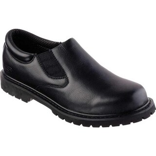 Skechers Men's Relaxed Fit Cottonwood Goddard SR Black
