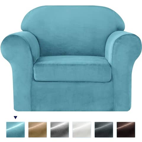 Subrtex Sofa Cover Stretch Slipcover with Separate Cushion Covers