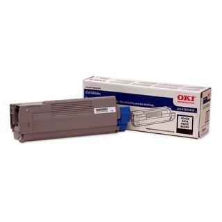 """OKI Toner Cartridge - Black 43324420 Oki Type C8 Black Toner Cartridge - Black - LED - 6000 Page - 1 Each"""