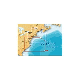 """""""Lowrance MSD/904PP Platinum Plus - Northeast and Canyons"""""""