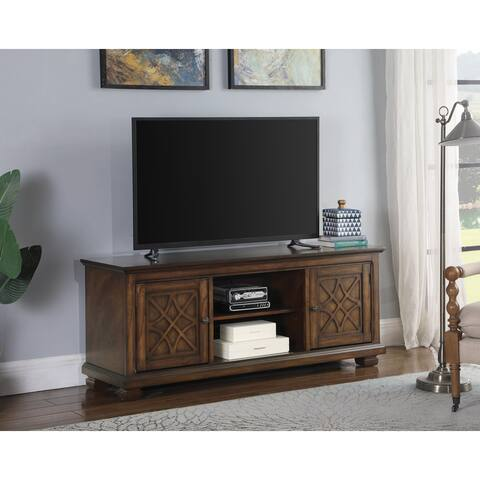 Stephanos 60-inch TV Console with Adjustable Shelves