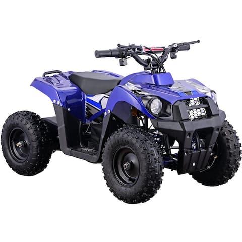 MotoTec Monster 36v 500w ATV Blue