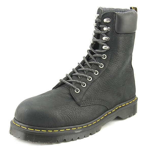 Dr. Martens Air Wair Rufford Men Steel Toe Leather Black Work Boot