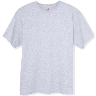 Hanes TAGLESS 6.1 Short Sleeve T-Shirt, Ash XX-Large