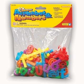 Magnetic Alphabet & Numbers 99 Pcs