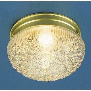 """Volume Lighting V7016 1 Light 7.5"""" Width Flush Mount Ceiling Fixture"""