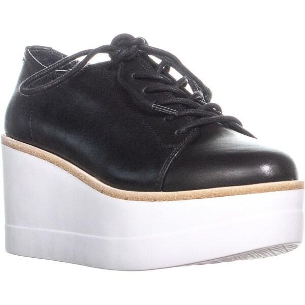3be4fc0f00e Shop Steve Madden Kimber Platform Lace Up Sneakers, Black - 6 us ...