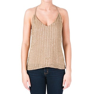 W118 by Walter Baker Womens Whitney Tank Top Chiffon Embellished