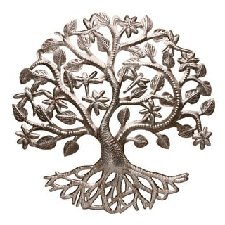 Dragonfly Tree Of Life - Metal Wall Art