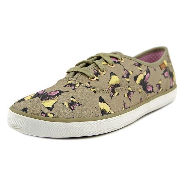 b4f3b380601 Shop Keds Champion Butterfly Round Toe Canvas Sneakers - Free ...
