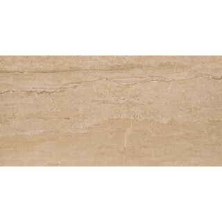 "MSI NPIEDUN1224P  Pietra Dunes - 24"" x 12"" Rectangle Floor Tile - Polished Visual - Sold by Carton (16 SF/Carton)"
