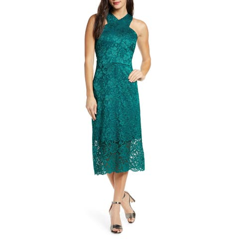 SAM EDELMAN Teal Sleeveless Midi Sheath Dress Size 10