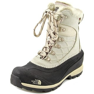 The North Face Chilkat 400 Women  Round Toe Leather Pink Snow Boot