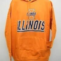 University of Illinois Fighting Illini Mens SIZE M MEDIUM HOODIE