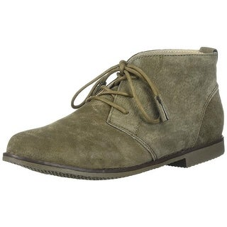 Spring Step Womens Morgana Suede Round Toe Ankle Fashion Boots
