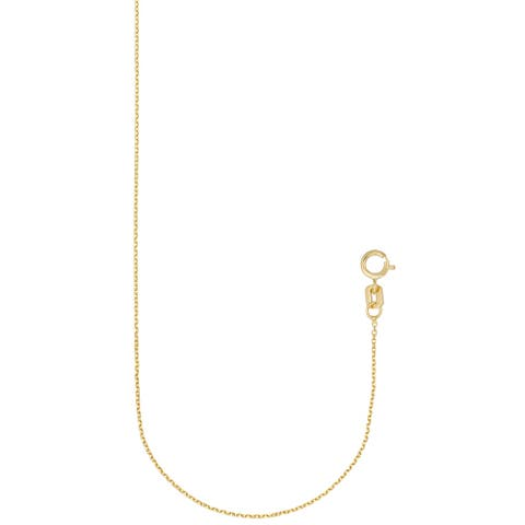 """Forever Last 10 Kt Gold 18"""" Rolo Chain Necklace"""