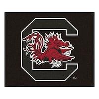 NCAA University of South Carolina Gamecocks Tailgater Mat Rectangular Outdoor Area Rug