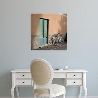 Easy Art Prints Alan Blaustein's 'Liguria Bicycle' Premium Canvas Art