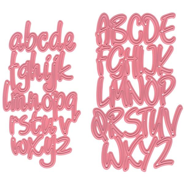 """Marianne Design Collectables Dies-Alphabet, 2.44""""X4.25"""""""