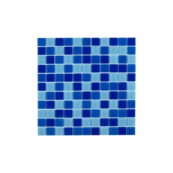 Ws Tiles 1 X 1 Glass Crystal Squares Mosaic Wall Tile Overstock 32308526